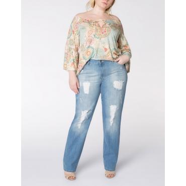 Jeans im Used- und Destroyed-Look