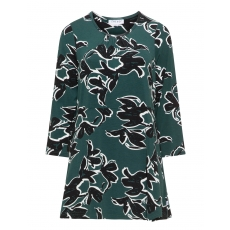 Jersey-Longshirt mit Allover-Print