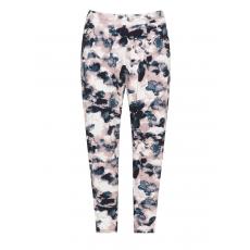 Jerseyhose mit floralem Print