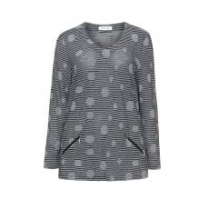 Jerseyshirt mit Allover-Muster