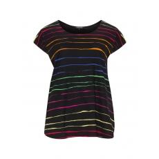 Jerseyshirt mit Multicolour-Streifen