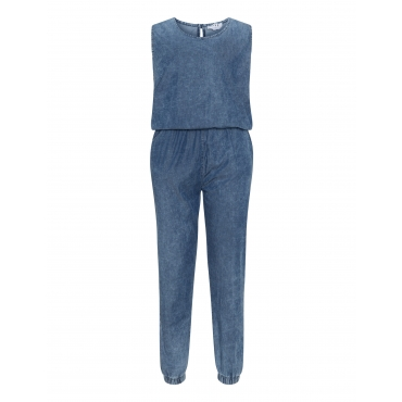 Jumpsuit im Washed-Out-Look