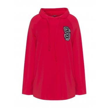 Kapuzen-Sweatshirt im College-Stil