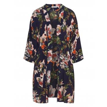 Kimono aus Viskose mit Allover-Print