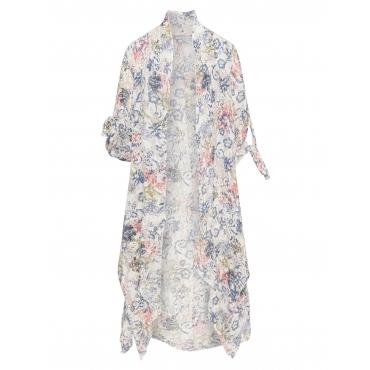 Kimono mit Allover-Print