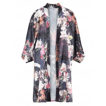 Kimono mit Asia-Print