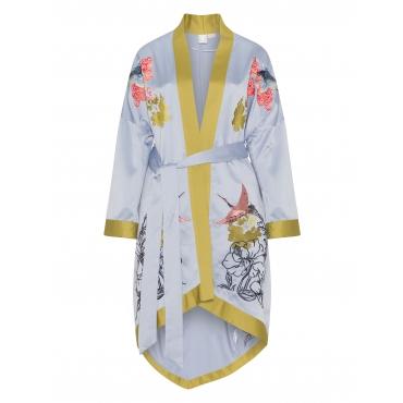 Kimono mit Asia-Stickerei