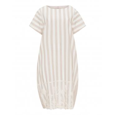 Kleid aus Leinen-Viskose-Mix