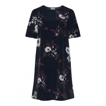 Kleid mit floralem Allover-Print