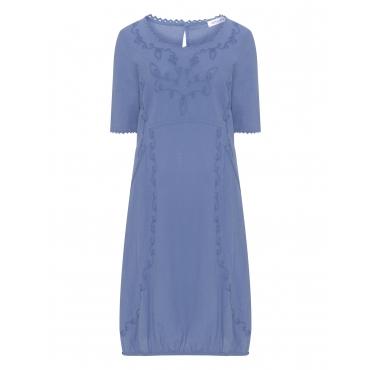 Kleid mit Kurbelstickerei