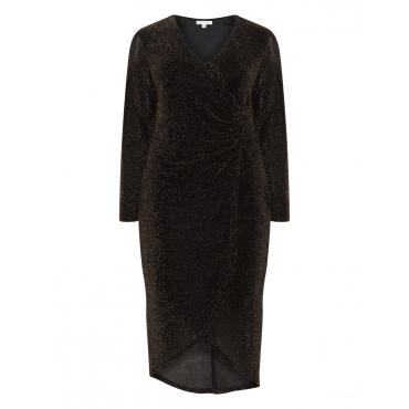 Kleid mit Lurex-Fäden