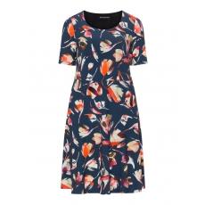 Kleid mit Print und Shaping-Rock