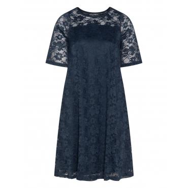 Kleid mit Spitze in A-Linie