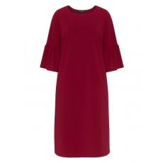 Kleid mit Volants am Ärmel