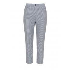 Knöchellange Jersey-Hose mit Streifen