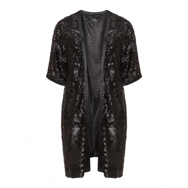 Langer Pailletten-Kimono