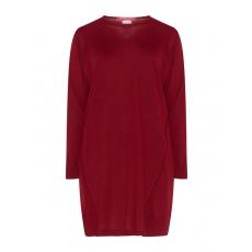 Langer Pullover aus Wollmix