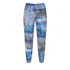 Leggings mit Allover-Mosaik-Print