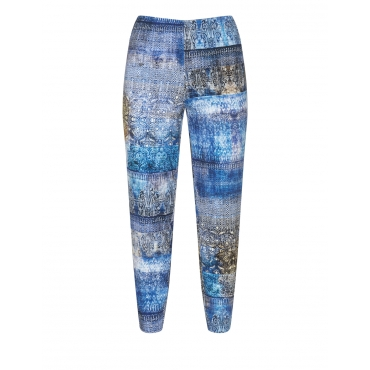 Leggings mit Allover-Mosaik-Print