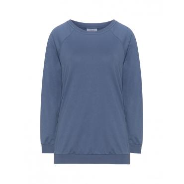 Leichtes Uni-Sweatshirt