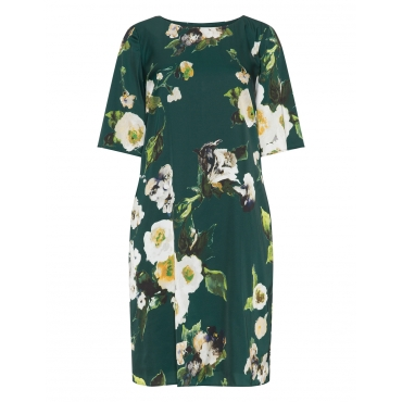Lockeres Kleid mit floralem Print