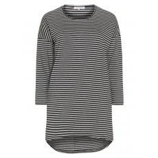 Longshirt im Streifen-Design
