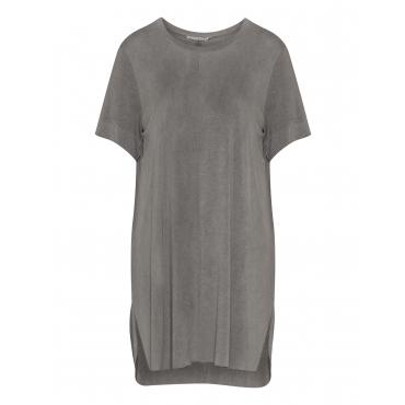 Longshirt im Used-Look mit Ziernaht