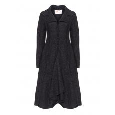 Mantel aus Viskose-Wolle-Mix
