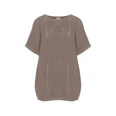 Oversize-Baumwollmix-Pullover