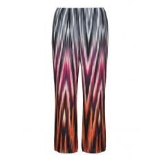 Palazzohose mit Allover-Print