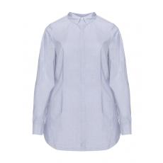 Print-Hemdbluse aus 100 % Baumwolle
