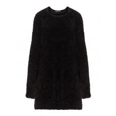Pullover aus Teddy-Strick