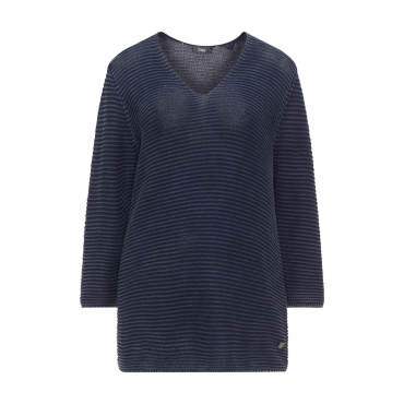 Pullover mit Washed-Out-Look