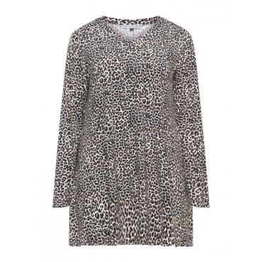 Pyjama-Shirt mit Print