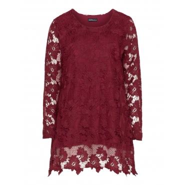 Shirt aus Crochet-Spitze