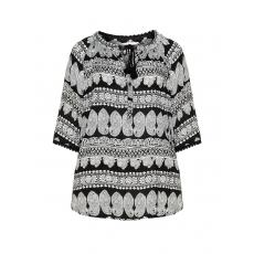Shirt im Allover-Print
