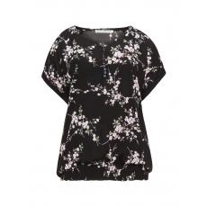 Shirt mit Allover-Kirschblüten-Print