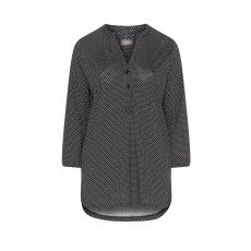 Shirt mit Allover-Palmen-Print