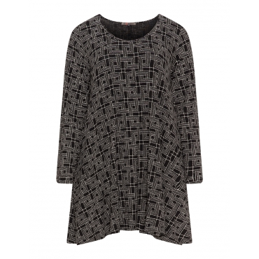 Shirt mit Allover-Print