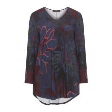 Shirt mit floralem Allover-Print