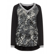 Shirt mit Leoparden-Print