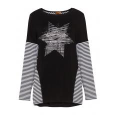 Shirt mit Streifen und Sternen-Deko