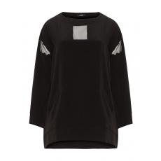 Shirt mit transparenten Einsätzen