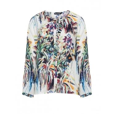 Shirt mit tropischem Print