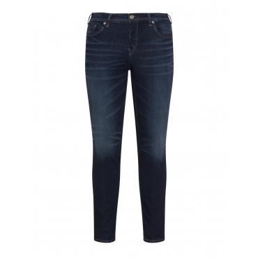Skinny Jeans mit leichter Waschung