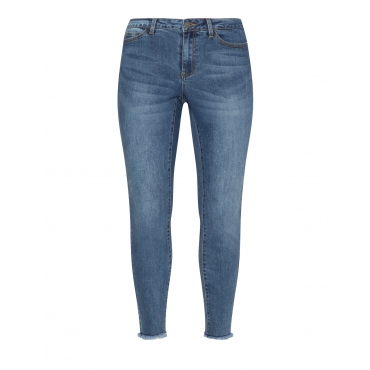 Slim Fit Ankle Jeans