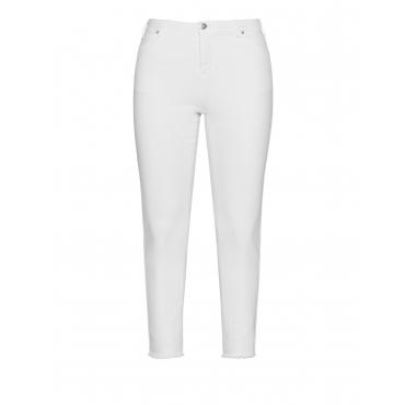 Slim Fit Jeans Amy mit Fransen
