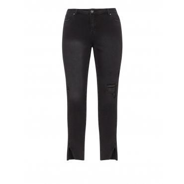 Slim Fit Jeans Luna im Destroyed-Look