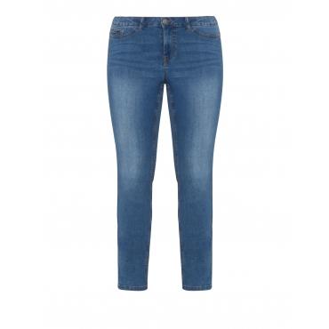 Slim Fit Jeans mit leichter Waschung
