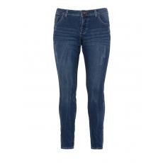 Slim Fit Jeans mit Used-Details